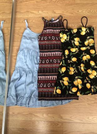 Плаття літо коротке tally weijl xs
