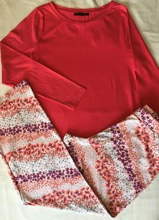 Піжамка піжама котонова домашній костюм р-р хл- 2хл
