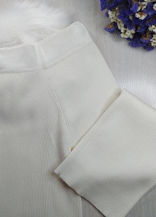 Штаны прямые в рубчик