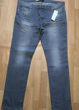Серые джинсы kiabi для длинноногих красавиц