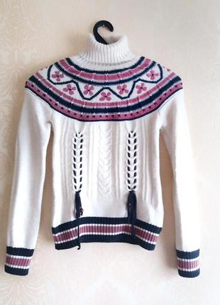 Уютный теплый свитер