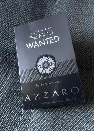 Парфюмированная вода azzaro the most wanted eau de parfum intense