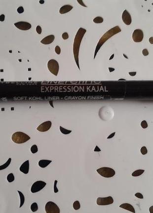 Карандаш для глаз expression kajal maybelline