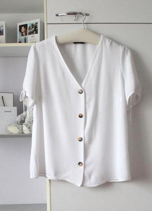 Белая блуза топ от f&f