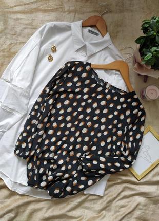 Стильная блуза из вискозы в принт tu