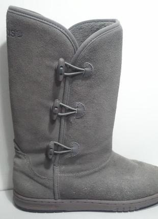 Фирменные женские сапоги ботинки adidas оригинал стелька 24.5 см.