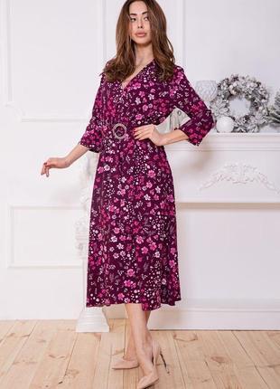 Новое женское платье миди весна лето