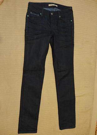 Темно-синие фирменные джинсы mustang jeans indiana 581 29/34 р.