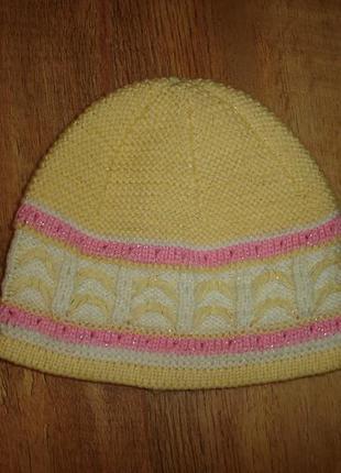 Шапка, шапочка на 3-5 лет