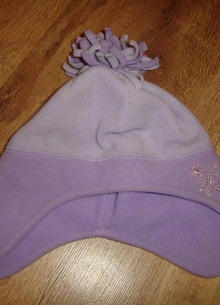 Флисовая шапочка на 1-3 года  отличное состояние