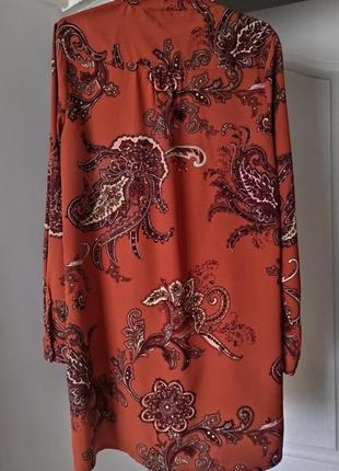 Блуза терракотовая boohoo,  123 фото