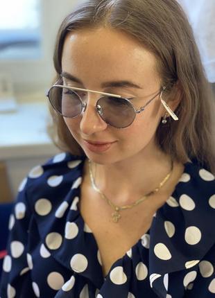 Титановые очки calvin klein премиум серия7 фото