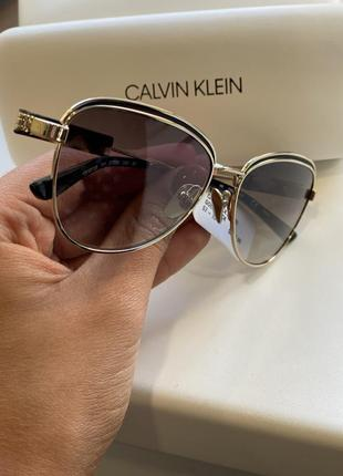 Очки calvin klein с шикарной оправой3 фото