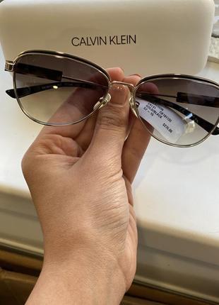 Очки calvin klein с шикарной оправой5 фото