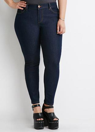 Брендовые, актуальные, новые джинсы, скинни, джеггинсы, forever, р. , l, xl