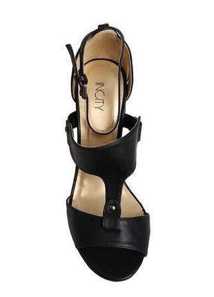 Кожаные туфли босоножки incity 40-41р 26,5-27см