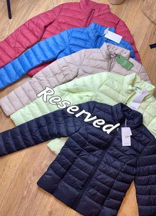 Стёганая весенняя куртка reserved