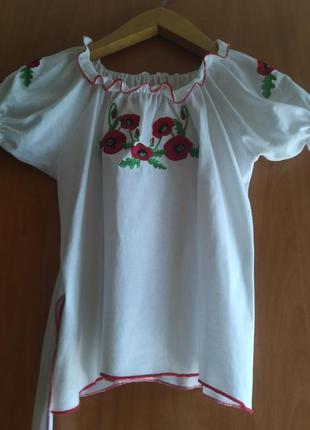 Вышиванка, блузка нарядная