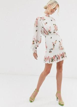 Платье asos edition, вышиванка