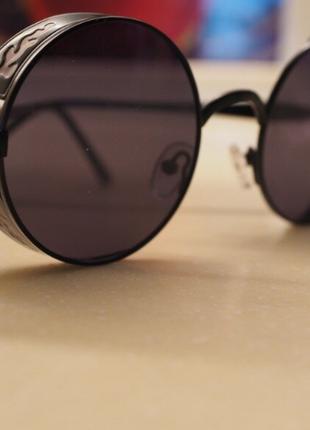 Солнцезащитные очки tuzengyong с металлической резьбой. унисекс