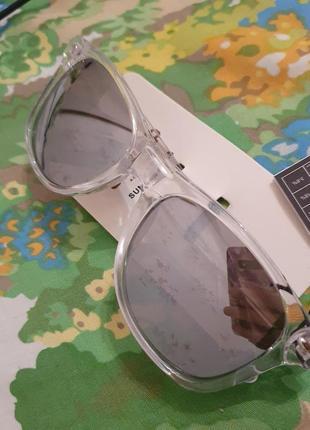 Очки солнезащитные с зеркальным стеклом и защитой от солнца от cropp4 фото