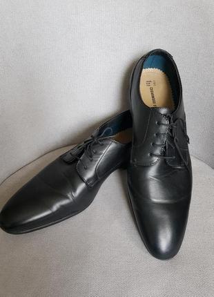 Туфли из натуральной качественной кожи,  р45