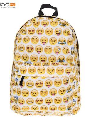 Крутой яркий летний рюкзак emoji