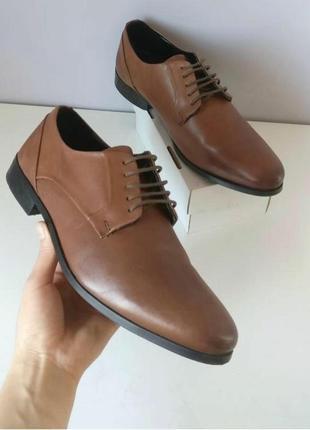 Туфлі чоловічі туфлі кожані туфли