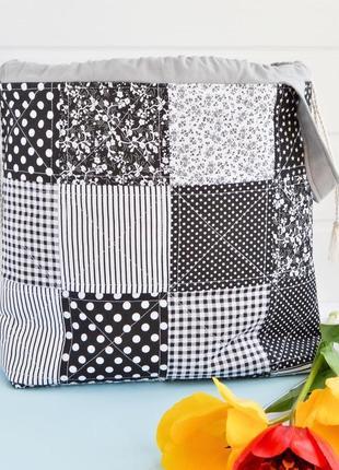 Проектная сумка для вязания, вышивки или хранения