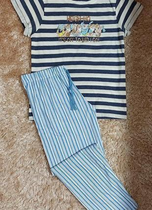 Пижама или костюм для дома английского бренда primark, анг. 14-16 р. (евро 42-44 р.)