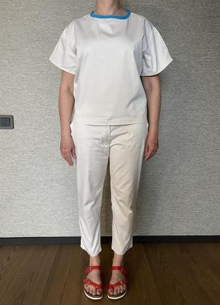 Костюм @don.bacon брюки и рубашка белый слоновая кость