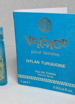 Versace dylan turquoise pour femme туалетная вода