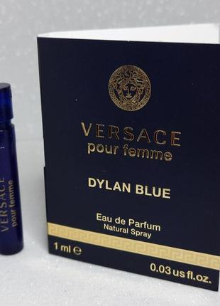 Versace dylan blue pour femme парфюмированная вода