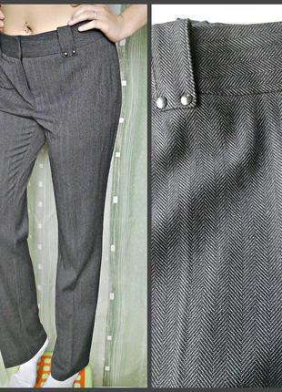 Твидовые брючки отличного качества, классная ткань - не мнется