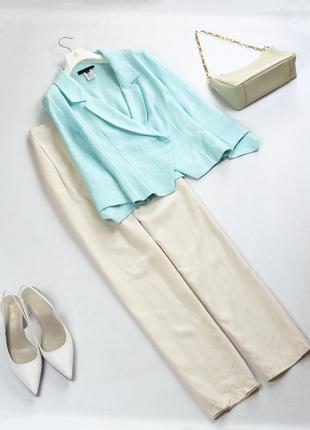 Шикарный летний льняной жакет пиджак renato nucci xl xxl