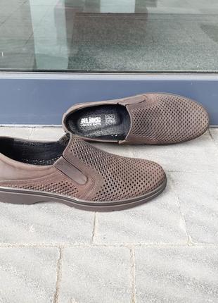 Чоловічі літні туфлі натуральна шкіра