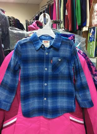 Рубашка на мальчика levi's 2t, 3t