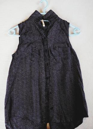 Супер блузка в горошек bershka