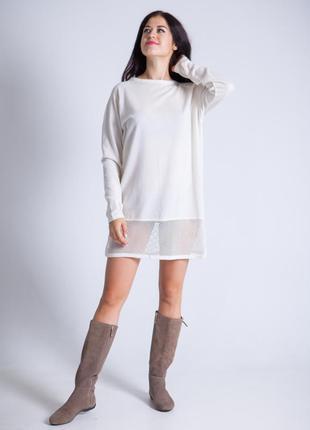 Нежное-платье туника от moss copenhagen