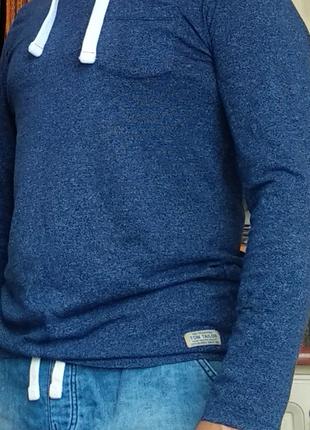 Брендовая кофта фирмы tom tailor fitted.оригинал l-ка.