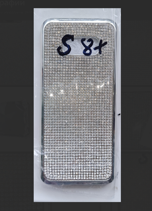 Блестящий чехол на samsung galaxy s8 +
