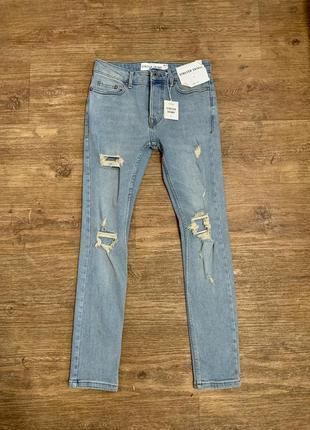 Новые джинсы topman оригинал outlet