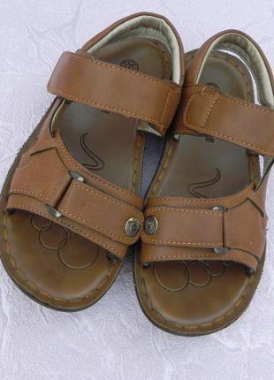 Кожаные сандалии t.taccardi 34р.
