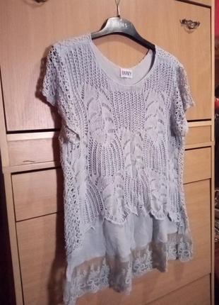 Блуза итальянская, легкая и невесомая