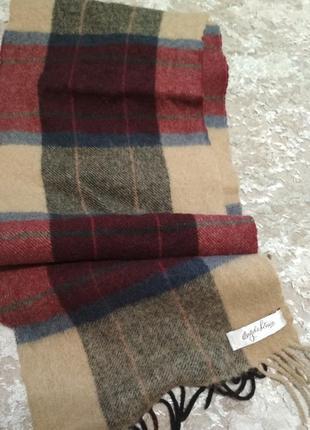Мужской шарф шерсть
