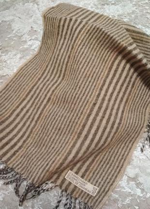 Мужской шарф верблюжья шерсть