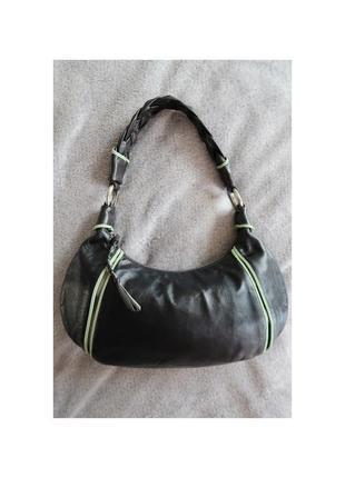 Кожаная сумка багет radley оригинал