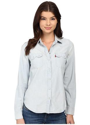 Стильна джинсова сорочка levi's