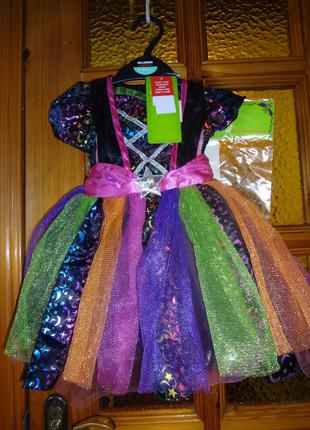 Костюм ведьмочки, ночи, звезды на 0-3, 3-6 мес. tu. карнавальный костюм.