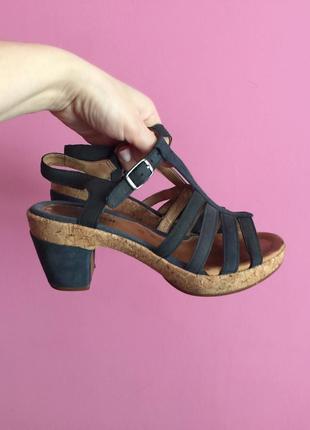 Мегаудобные босоножки gabor comfort 38 39 кожа полнота g можно на широкую ногу